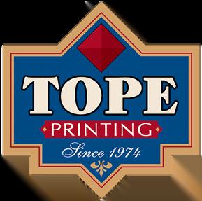 tope printing millersburg ohio commercial printing advetising specialties